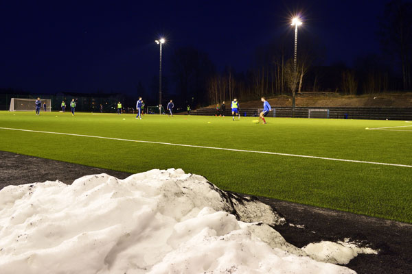 All-weather football pitches